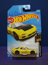 2018 Hot Wheels '95 MAZDA RX-7, HW NIGHTBURNERZ Series 4/10. Long Card.