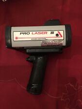 Kustom Signals Pro Laser III 3 Police Laser Radar Gun