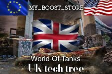 World of Tanks(WoT) ANY ENGLISH TIER 10 TANK  | 7 days |  (Not Bonus Code)
