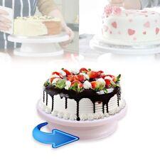 Alzata per torte girevole - Piatto rotante per decorazione dolci 28 x 7 cm