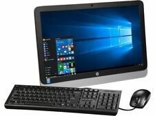 "HP All-in-One 23"" FHD Intel G3260T 8GB 250GB SSD Wi-fi DVD burner WebCam Win10"