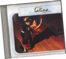 """CD """"MÚSICA LATINA TRADICIONAL; UNA CELEBRACIÓN DE LAS TRADICIONES LATINAS"""""""