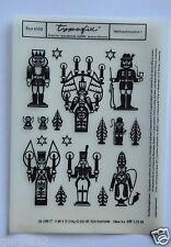 DDR Kult Typofix Haftdruckabreibfolie Saalfeld Rubbelbild 4355 Weihnachtsmotive
