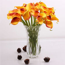 10 Pcs Latex Real Calla Lily Flowers Bouquets Wedding Bouquet Artificial