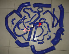26PCS For TOYOTA SUPRA MK3 MA70 7MGE/7MGTE Turbo Silicone induction Hose BLUE
