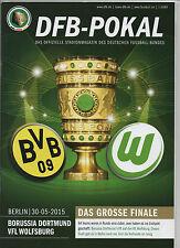 Orig.PRG   DFB Pokal  14/15  FINALE   BORUSSIA DORTMUND - VfL WOLFSBURG  !!