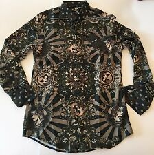 Brand New D&G Dolce & Gabbana Shirt Men's 100% ITALY SIZE L France Casual