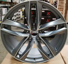 "22"" Avant C7 Style Rims Gunmetal Wheels Fit Audi Q7 Porsche Cayenne S VW Touareg"