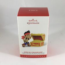 Hallmark Going On A Treasure Hunt Jake And The Neverland Pirates Ornament 2015