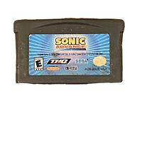 Sonic Advance (Nintendo Game Boy Advance, 2004) GBA - TESTED WORKS!!!