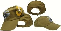 COYOTE BROWN EGA USMC LOGO MARINES ADJUSTABLE Cover HAT CAP MARINE CORP