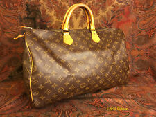 Louis Vuitton Monogram Speedy 40- Authenticated by CarolDiva.com SOLD AS IS!