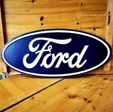 Blechschild Ford ca. 50,5 cm lang geprägt Schild Garage Werkstatt NEU