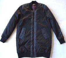 NWOT Members Only 2 tone black 1975 skull zip 2 pocket winter coat jacket mens M
