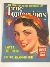 True Confessions Magazine May 1939 Very Good Condition-Excellent-Free Shipping!