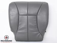 98-02 Dodge Ram 3500 SLT -Driver Side Bottom Replacement Leather Seat Cover GRAY