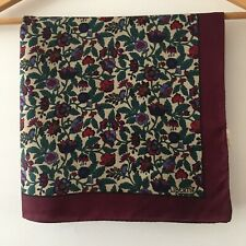 Liberty 100% Silk Vintage Scarf - Immaculate