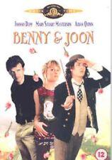 Benny and Joon Johnny Depp DVD Region 2