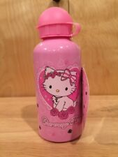Charmmy Kitty Hello Kitty's cat pink metal WATER BOTTLE KIDS sanrio 17oz