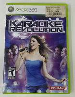 Karaoke Revolution (Microsoft Xbox 360, 2009) Complete Tested Working