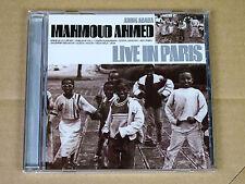 CD Mahmoud Ahmed - Live In Paris - CNR Music 1997 (Ethiopiques)