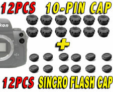12PCS CAP COVER 10-PIN SYNC FLASH REMOTE CONTROL MC-30 CAMERA NIKON F90X MB-10