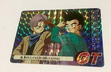 Carte dragon ball - card PP card prism soft  Japan N*38 Part Part 30 GT