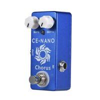 MOSKY CE-NANO Electric Guitar Chorus Effect Pedal Full Metal Shell True Byp O8V2