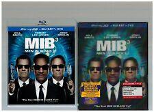 Men in Black 3 (Blu-ray/Dvd, 2012, 3-Disc Set, Includes Digital Copy 3D