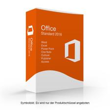 Microsoft Office 2016 Standard Vollversion MS 2016 std online activation ESD