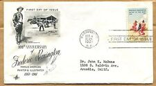 1961 FREDERIC REMINGTON FIRST DAY COVER