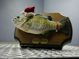 Gemmy Big Mouth Billy Bass Singing Animated Christmas Songs