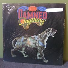 "The Damned ""Anything"" 12"" Sealed UK The Clash Sex Pistols LP"