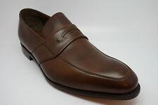 Barker Jubiläum Sammlung Marlborough Loafer Schuhe in Mahagoni Kalb UK 11.5G