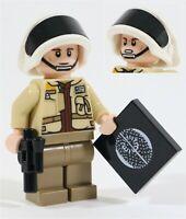 LEGO STAR WARS CAPTAIN ANTILLES MINIFIGURE REBEL - MADE OF GENUINE LEGO PARTS