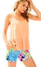 Lilly Pulitzer Abena Top Camisole Papaya Style #25194 Size XL $88 NWT