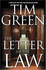 Casey Jordan: The Letter of the Law Bk. 1 by Tim Green (2000, Hardcover)