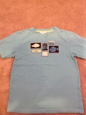 Janie and Jack T-Shirt Turquoise Size 8