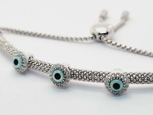 Links of London Starlight Sapphire Evil Eye bracelet