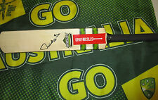 "Matthew Hayden (Australia) signed Gray Nicolls ""Fusion"" Mini Cricket Bat + COA"