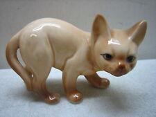 Danbury Mint Cats Of Character Watching Out Fine Bone China Cat Figurine