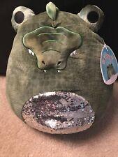 """Squishmallow Archer The Alligator 12"""" Rare Plush W/ Sequins"""