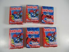 Transformers BandAid Lot- 6 Boxes- 20 in each (120 total) New in sealed boxes