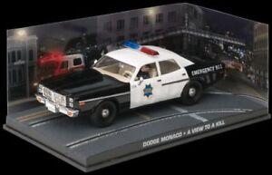 JAMES BOND 007 film model cars A VIEW TO A KILL Chevrolet Dodge Renault Fuego