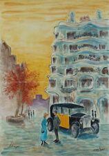 Artisteri / Llop - lito Barcelona modernista la Pedrera, numerada y firmada