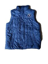 Abercrombie & Fitch Kids Down Puffer Vest Blue Size 13 / 14 Blue. Very nice
