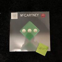 Paul McCartney III 3 Target Exclusive LP Vinyl Green Limited Edition **IN HAND**