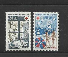 FRANCE  Croix Rouge 1974 YT 1828 -1829 NEUF / MNH