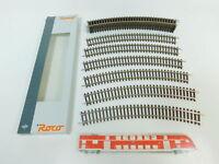 BN890-0,5# 12x Roco H0/DC 42424 Gleis/Gleisstück gebogen R4/R 4, NEUW+OVP