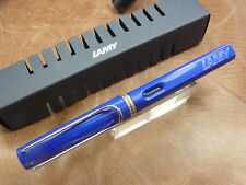 LAMY SAFARI L14F FOUNTAIN PEN FINE NIB BRAND NEW IN BOX W/ CONVERTER